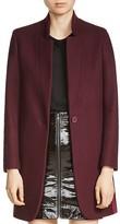 Maje Goriage Wool-Blend Coat