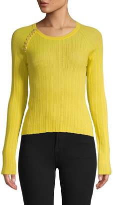 Altuzarra Textured Wool & Cashmere-Blend Sweater