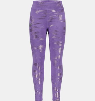 Under Armour Girls' Pre-School UA Glare Foil Leggings