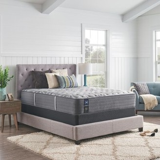 """Sealy Posturepedic Plus 13"""" Medium Firm Tight Top Mattress and Box Spring Mattress Size: California King, Box Spring Height: Low Profile (5"""")"""