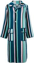 M Missoni - striped coat - women -