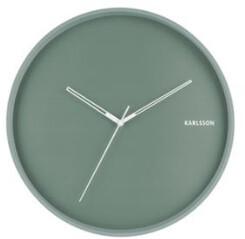 Present Time Green Wall Clock - Green
