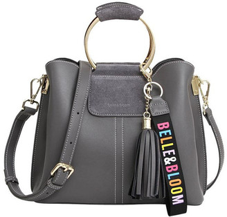 Belle & Bloom Twilight Ash Zip Top Crossbody Bag TWIXI0ASH