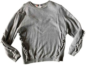 MSGM Grey Cotton Knitwear for Women
