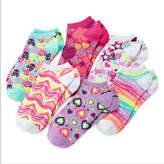 JCPenney Total Girl 6-pk. Heart No-Show Socks - Girls 7-16