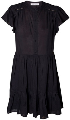 Skin and Threads Cotton Voile Smock Dress