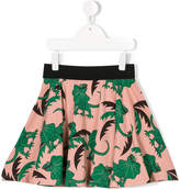 Mini Rodini lizard print skirt