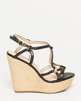 Le Château Brazilian-Made Leather-Like Wedge