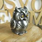 edealing(TM) Cute Owl Bird Savings Piggy Coin Money Bank Creative Gift Craft Home Decoration