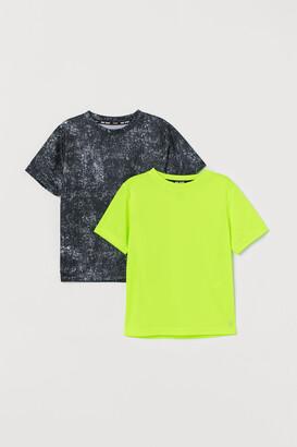 H&M 2-pack Sports Shirts
