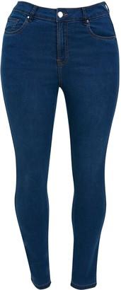 Evans Midwash Ultra Stretch Skinny Jeans