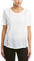 The Kooples Lace T-shirt.