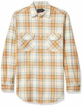 Pendleton Men's Long Sleeve Button Front Beach Shack Shirt