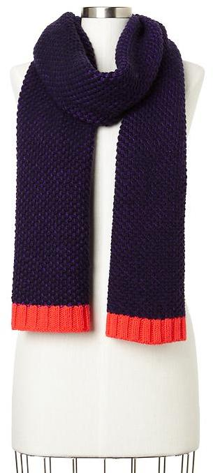 Gap Contrast-trim scarf