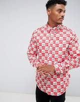 Hype X Coca Cola Shirt With Checkerboard Logo Print