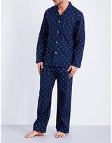 Derek Rose Nelson 59 Modern-fit Cotton Pyjama Set