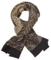 Missoni Ribbed Wool Long Scarf