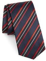 BOSS Diagonal Stripe Silk Tie