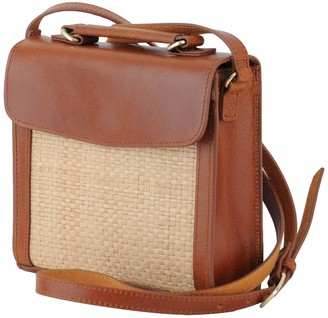 Most Wanted Design by Carlos Souza Elizabeth Straw Saddle Bag
