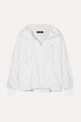 adidas by Stella McCartney Canvas-trimmed Shell Jacket - White