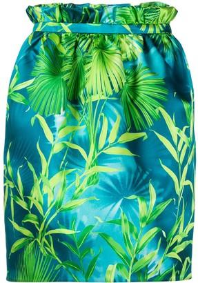 Versace Jungle Print Skirt