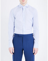 Tom Ford Checked Regular-fit Cotton Shirt