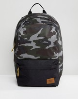 Timberland Crofton 22L Backpack in Green Camo/Black