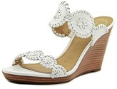 Jack Rogers Luccia Women Open Toe Synthetic White Wedge Heel.