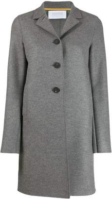 Harry's of London single-breasted regular-fit coat