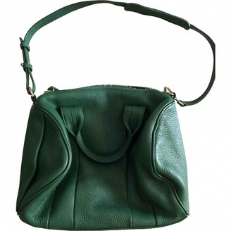 Alexander Wang Rocco Green Leather Handbags