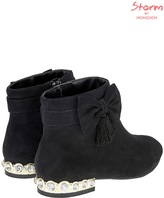 Monsoon Gem Embellished Heel Boots