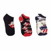 Asstd National Brand 3-pc Ghostbusters Low Cut Socks