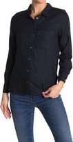 Thumbnail for your product : Velvet Heart Bennett Long Sleeve Button Front Pocket Shirt