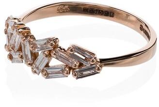 Suzanne Kalan Chevron Diamond Ring