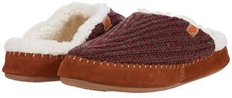 Acorn Camden Clog (Garnet) Women's Shoes