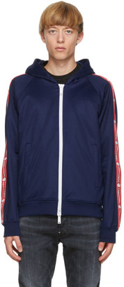 DSQUARED2 Blue Techno Track Jacket