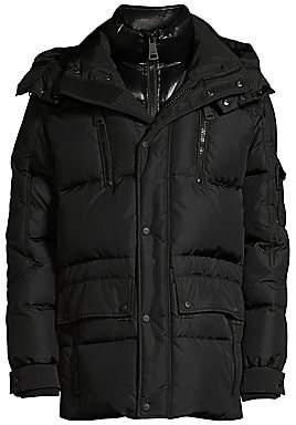 SAM. Men's Element Quilted Nylon Down Jacket