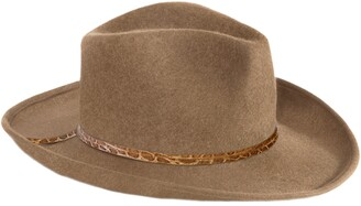 Eric Javits Wool Western Hat