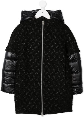 Herno Contrast Puffer Jacket