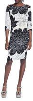 Tracy Reese Floral-Print Sheath Dress