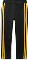 Joseph Striped Scuba-jersey Sweatpants - Black