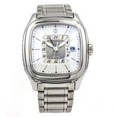 David Yurman Thoroughbred Dual Stainless Steel Automatic 42mm Mens Watch