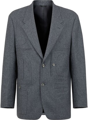 Fendi Wallet Detail Straight Jacket