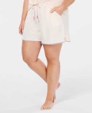 Macy's Jenni Plus Size Drawstring Pajama Shorts, Created for