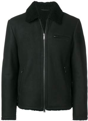 Desa 1972 shearling collar jacket