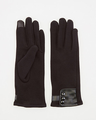 Le Château Cotton Blend Touchscreen Gloves
