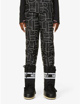 Moncler Logo Pantalone shell trousers