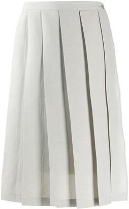 Chalayan Pleated Midi Skirt
