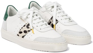 Axel Arigato Clean 90 calf hair and leather sneakers