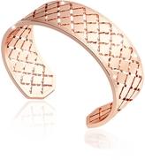 Rebecca Melrose Rose Gold Over Bronze Bangle Bracelet